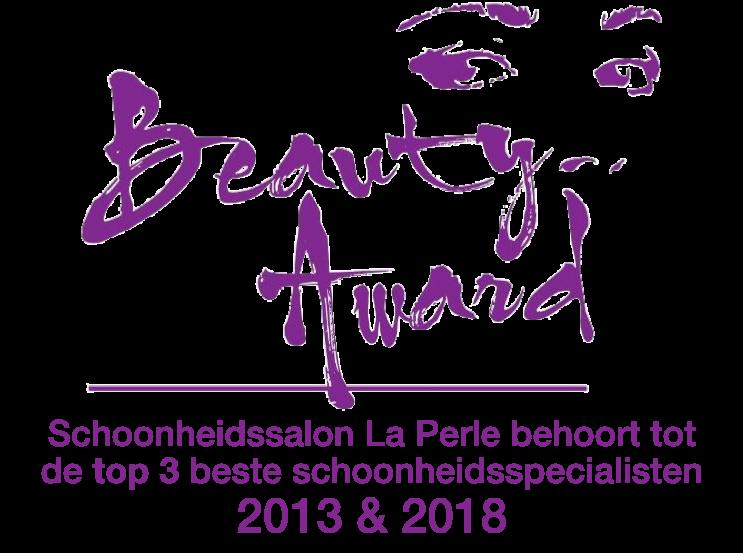 Schoonheidssalon La Perle behoort tot de top 3 beste schoonheidsspecialisten 2018